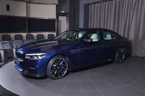 bmw 540 i mediterranean blue 2017 bmw 540i dipped in m performance