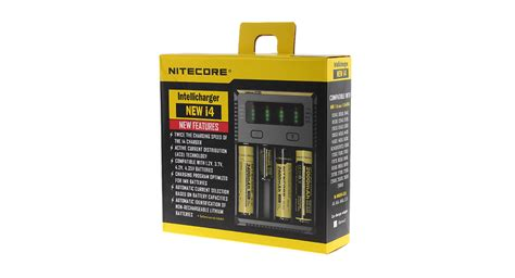 Nitecore New I4 Original Intellicharger Battery Charger 4slot 18650 22 48 authentic nitecore new i4 intellicharger 4 slot battery charger us for 10340 12340