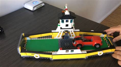 lego ferry boat lego city ferry boat 60119 youtube