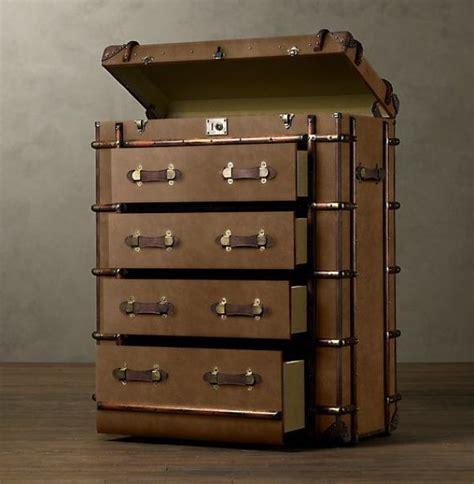 beautiful travel trunks steamer trunk furniture neatorama