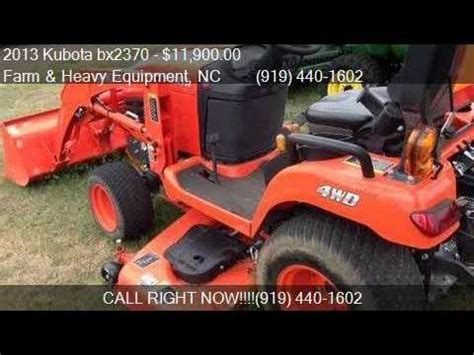 2013 kubota bx2370 trctr/ldr/mwr for sale in farm and
