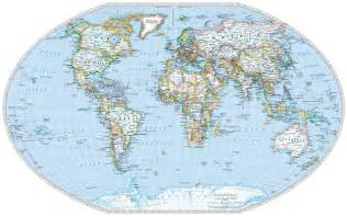 World Flat Map by Detailed Flat Earth Map