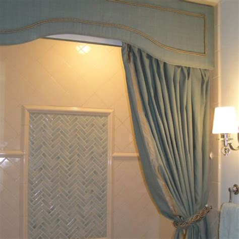 Cornice Board With Curtains Cornice Shower Curtain Ideas For New House