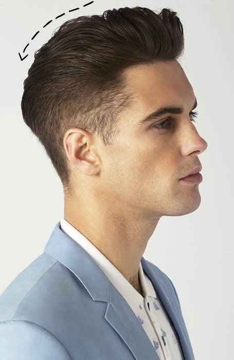 haircuts quiff classic men s quiff hairstyle the haircut trend for a new