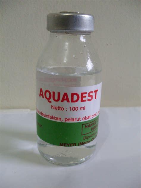 Obat Car Q 100 aquadest obat ternak