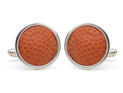 Syracuse Game Used Basketball Cuff Links   Tokens & Icons