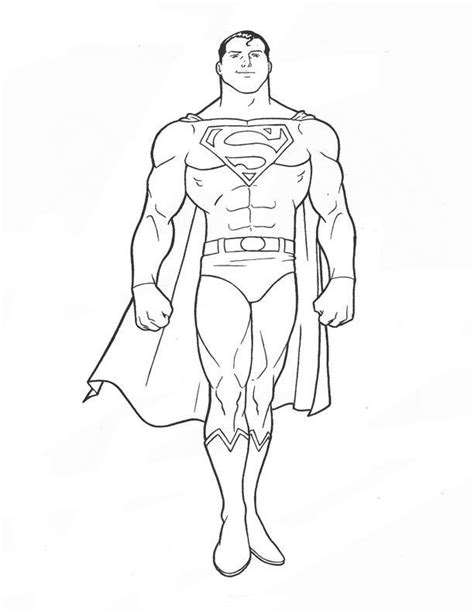 superman coloring pages kids coloring