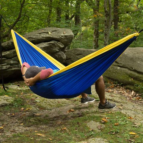 castaway travel hammock with hanging straps dfohome