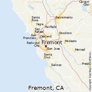where is fremont california on the map best places to live in fremont california