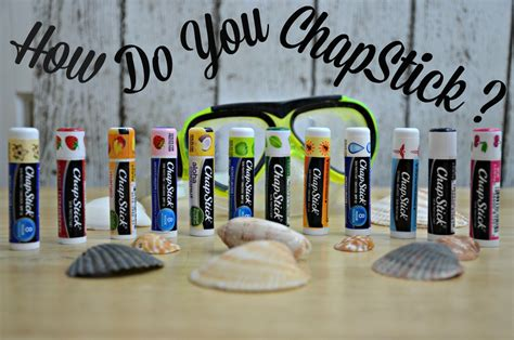Chapstick Giveaway - how do you chapstick chapstick prizepack giveaway