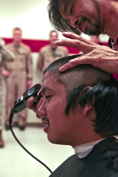 marine corps officers haircut photos