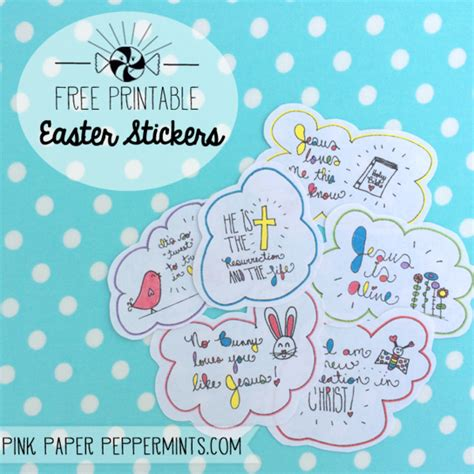 printable egg stickers printable easter stickers perfect last minute egg stuffers