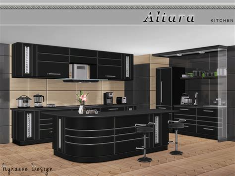 Hair Style Tools Name In Kitchen by Altara Kitchen By Nynaevedesign At Tsr 187 Sims 4 Updates