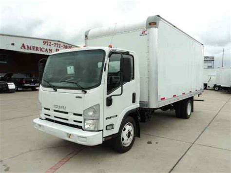 isuzu nrr 2010 box trucks