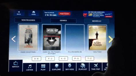 delta flight entertainment the new delta in flight entertainment walk through youtube