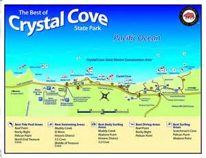 Crystal Cove State Park Map by The Best Of Crystal Cove State Park Maplets