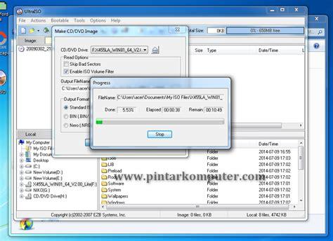 cara membuat file iso dari file di hardisk cara mudah membuat file iso dari cd dvd menggunakan