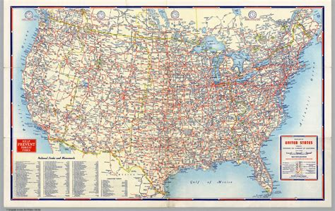 usa map for driving united states road map