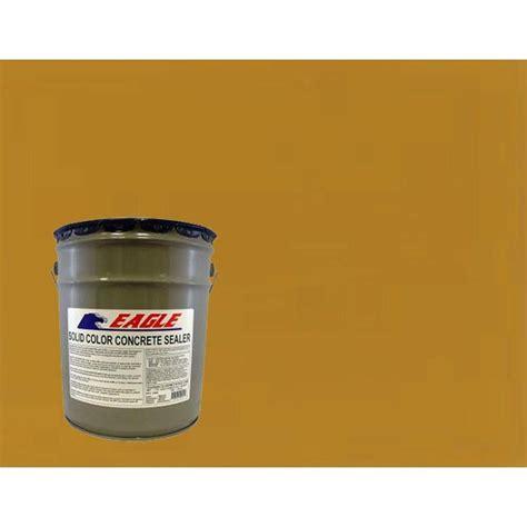 eagle 5 gal terra orange solid color solvent based