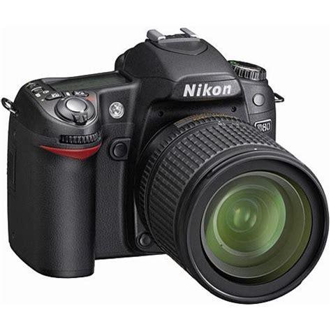 Nikon D80 Kit 18 135mm 11 nikon d80 slr digital kit with 18 135mm lens 9405 b h