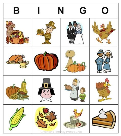 printable thanksgiving bingo cards free free thanksgiving printable game customize your own