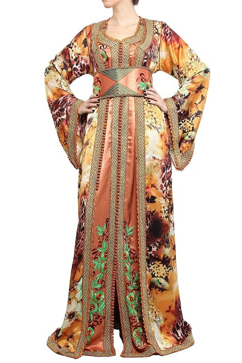 Dress Brukat jihan moroccan dress kaftan moroccan clothing moroccan dress kaftan and brokat