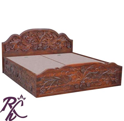 The Images Collection of Buy wood furniture design box bed