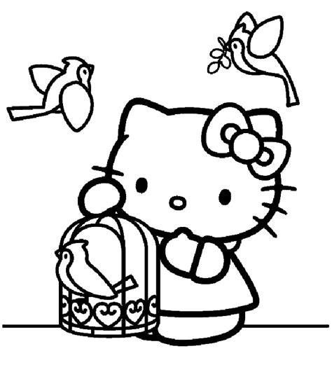 lulu kitty coloring pages free coloring pages