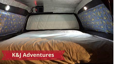 truck camper diy youtube
