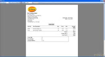 easy invoice template free simple invoice simple invoice 1 2 0 9