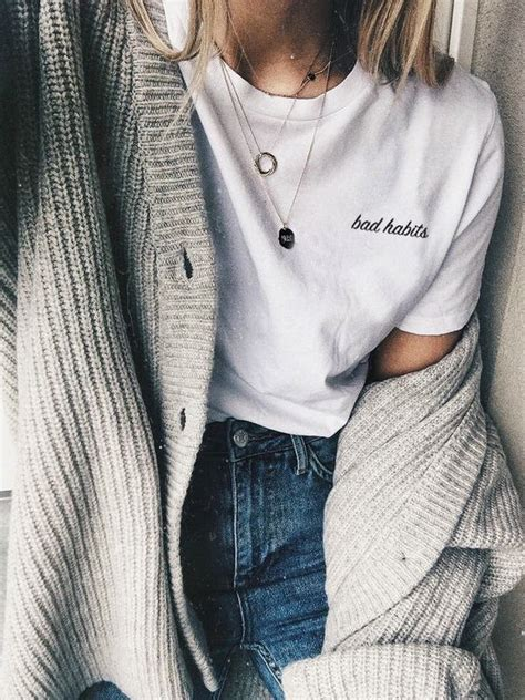 bad habits  shirt tumblr shirt tumblr clothes