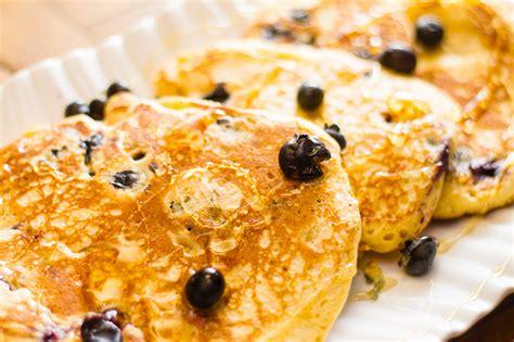 easy blueberry pancakes recipe dishmaps