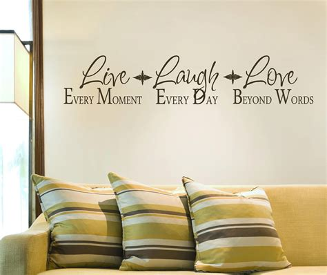 live laugh love wall decor wall decor live laugh love interior decorating