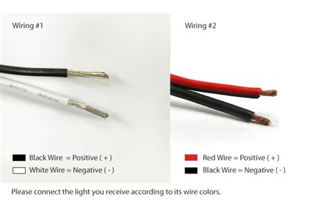 which wire is positive black or white wiring diagram schemes
