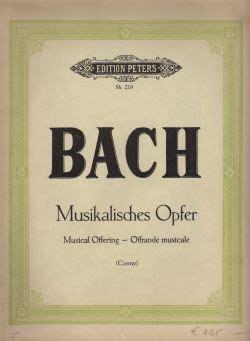 musikalisches opfer musikalisches opfer piano society