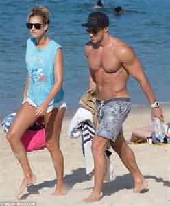 Tom burgess who bikini girl laura dundovic enjoys beach rendezvous