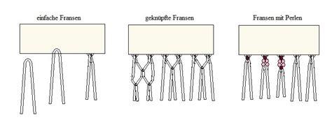 hängematte knüpfen anleitungen fransen herstellen anleitungen tipps und