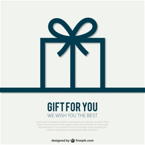 gift box card template gift box vectors photos and psd files free