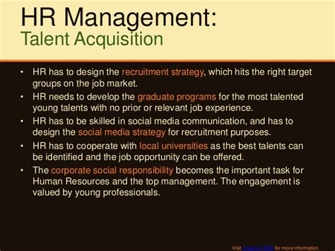 Talent Acquisition Specialist by Hr Strategic Agenda