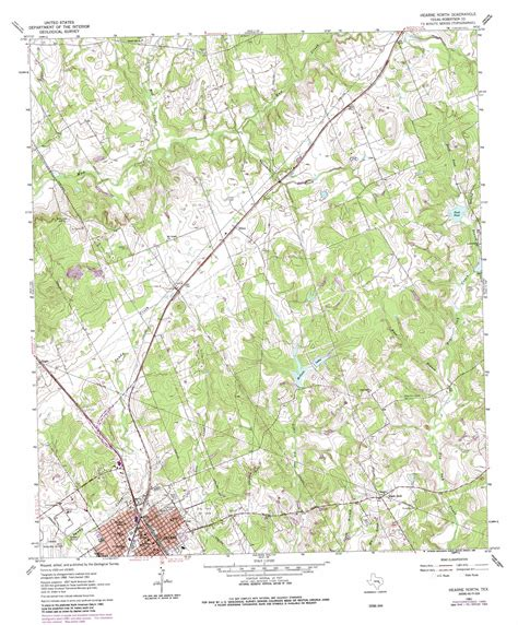 hearne texas map hearne topographic map tx usgs topo 30096h5