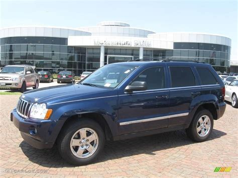 2005 grey jeep grand cherokee 2005 midnight blue pearl jeep grand cherokee limited