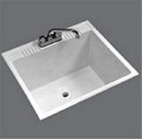 fiat drop in laundry sink fiat dl 1cov 24 quot x 22 quot drop in laundry tub white dowel