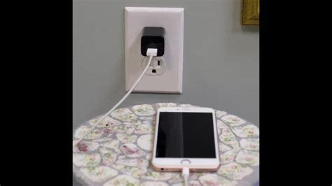 iphone     usb wall charger spy pinhole p nanny