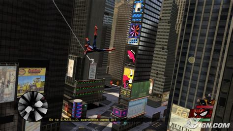 spider man web of shadows swinging spiderman web of shadows 2008 all gamez