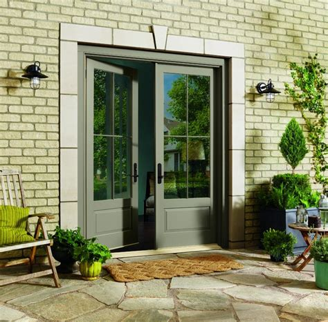 Inswing French Doors By Marvin Traditional Patio Marvin Patio Doors