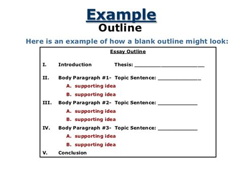 how to create a thesis topic research paper topic sentence outline