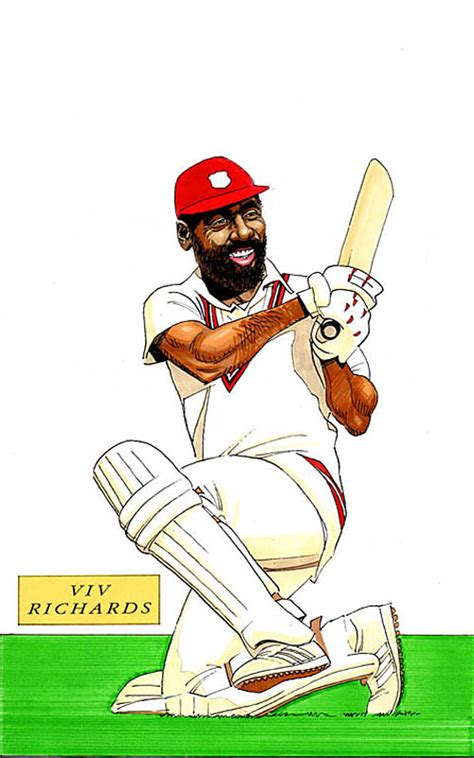 cricketer caricatures