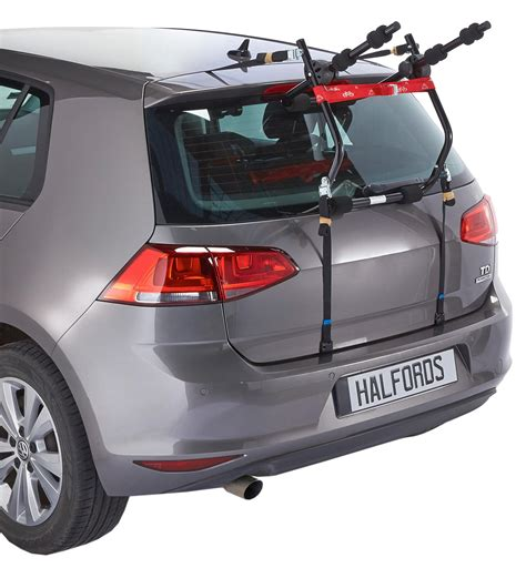 Halfords Bike Rack Fitting by Halfords Essentials Rear Low Mount Cycle Carrier