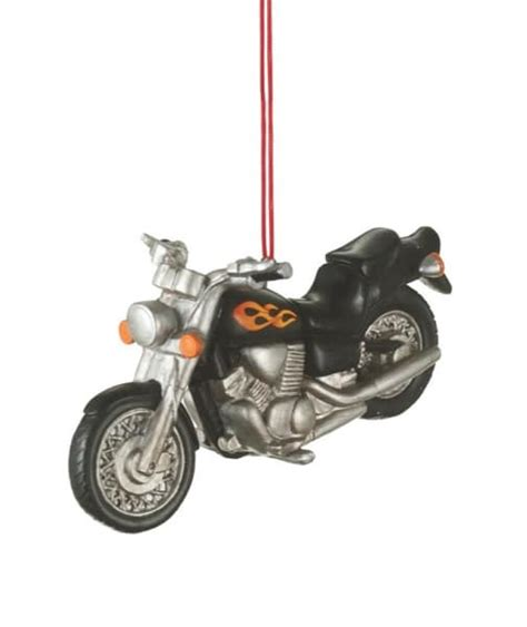 Home Decorating Photos Motorcycle Christmas Ornament Midwest Cbk