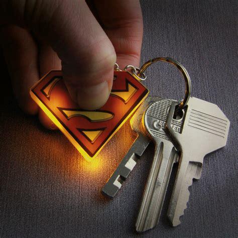 key ring lights superman light up key ring iwoot